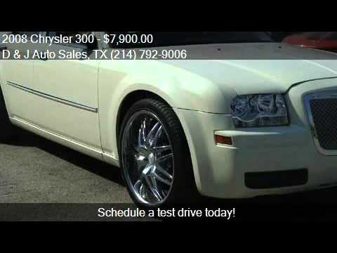2008 chrysler 300 for sale in dallas tx 75212 at the d and youtube. Black Bedroom Furniture Sets. Home Design Ideas