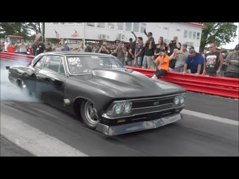 "Andy Jenson ""master Of Faster"" Vs Michael Gwynn's Nasty Chevelle"