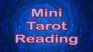 Mini Tarot Reading   KM  14th March 2018