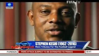 Stephen Keshi: Ben Alaiya Mourn Football Legend