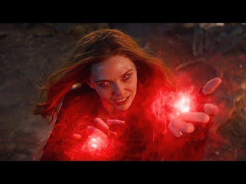 스칼렛 위치 vs 타노스 전투 장면 | 어벤져스: 엔드게임 (Avengers: Endgame, 2019) [4K]