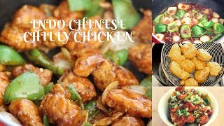 INDO CHINESE CHILLI CHICKEN ||| EASY RECIPE GREAT TASTE