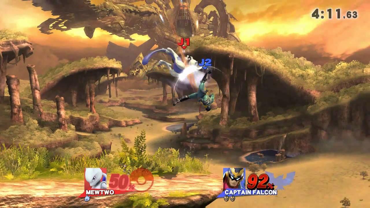 Combat Serré Sur Super Smash Bros For Wii U