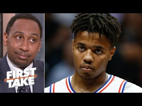 Markelle Fultz is on the verge of being the biggest NBA draft bust - Stephen A. | First Take