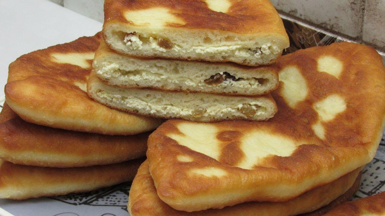 Домашние Пирожки со сладким творогом! Простой рецепт Пирожков на сковороде - съедаются в один миг!