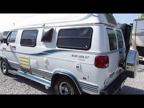 1997 Xplorer Mur Van HT 17 ft. Class B Camper Van, 75K Miles, Generator, 15 MPG $17,900