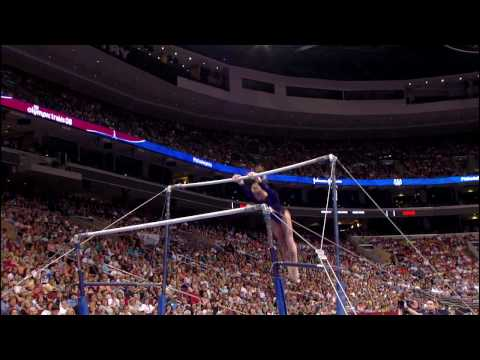 Bridget Sloan - Uneven Bars - 2008 Olympic Trials - Day 1