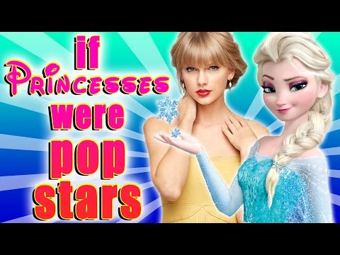 If Disney Princesses Were Pop Stars