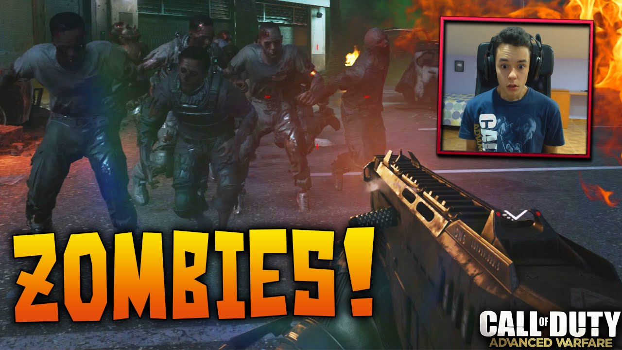 Advanced Warfare Zombies Gameplay Final Exo Survival Riot Zombies Cod Aw Dlc Zombies Youtube