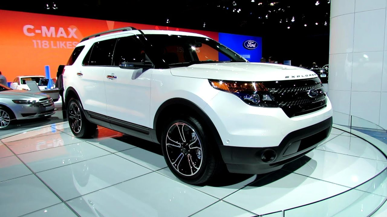 2013 Ford Explorer Sport Awd Exterior At 2012 New York