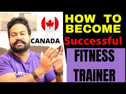 How To Become A Certified Fitness Trainer In Canada By Canadian Shaan