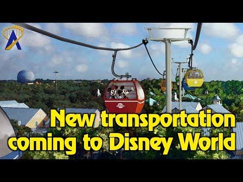 Disney Skyliner Gondola ride and Minnie-Van transportation coming to Walt Disney World