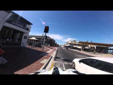 Ride from Grange to West Beach, Adelaide Australia