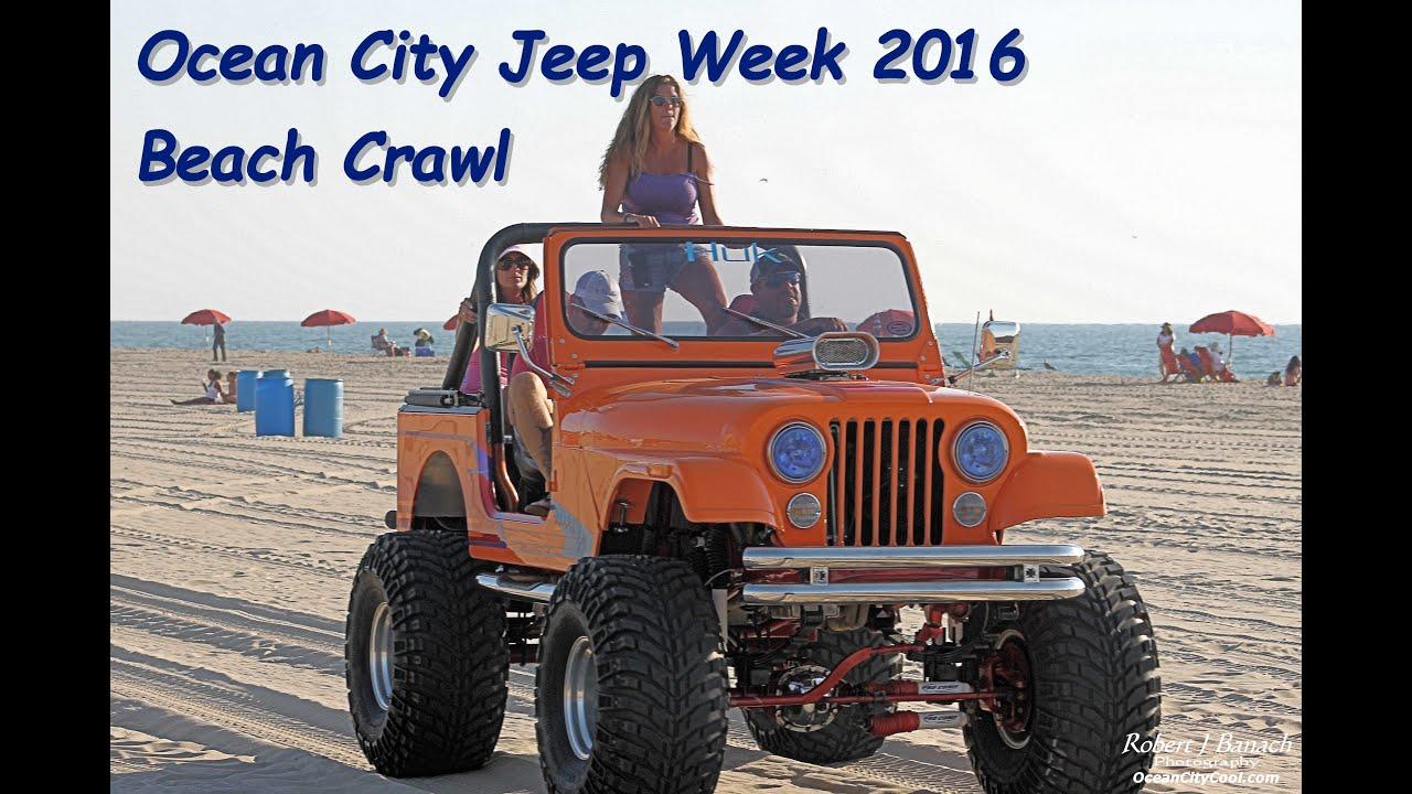 OC Jeep Week 2016 Beach Crawl Day 4