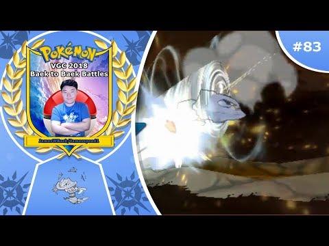 """Mega Steelix Sweep"" Pokémon Ultra Sun & Moon VGC 2018 Baek to Baek Battles - Episode 83"