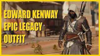 Assassin's Creed Origins - NEW EDWARD KENWAY OUTFIT showcase ( PC - ULTRA - 1080p)