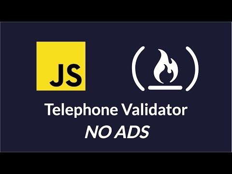 Telephone Validator - Project 4 Javascript Certification FreeCodeCamp