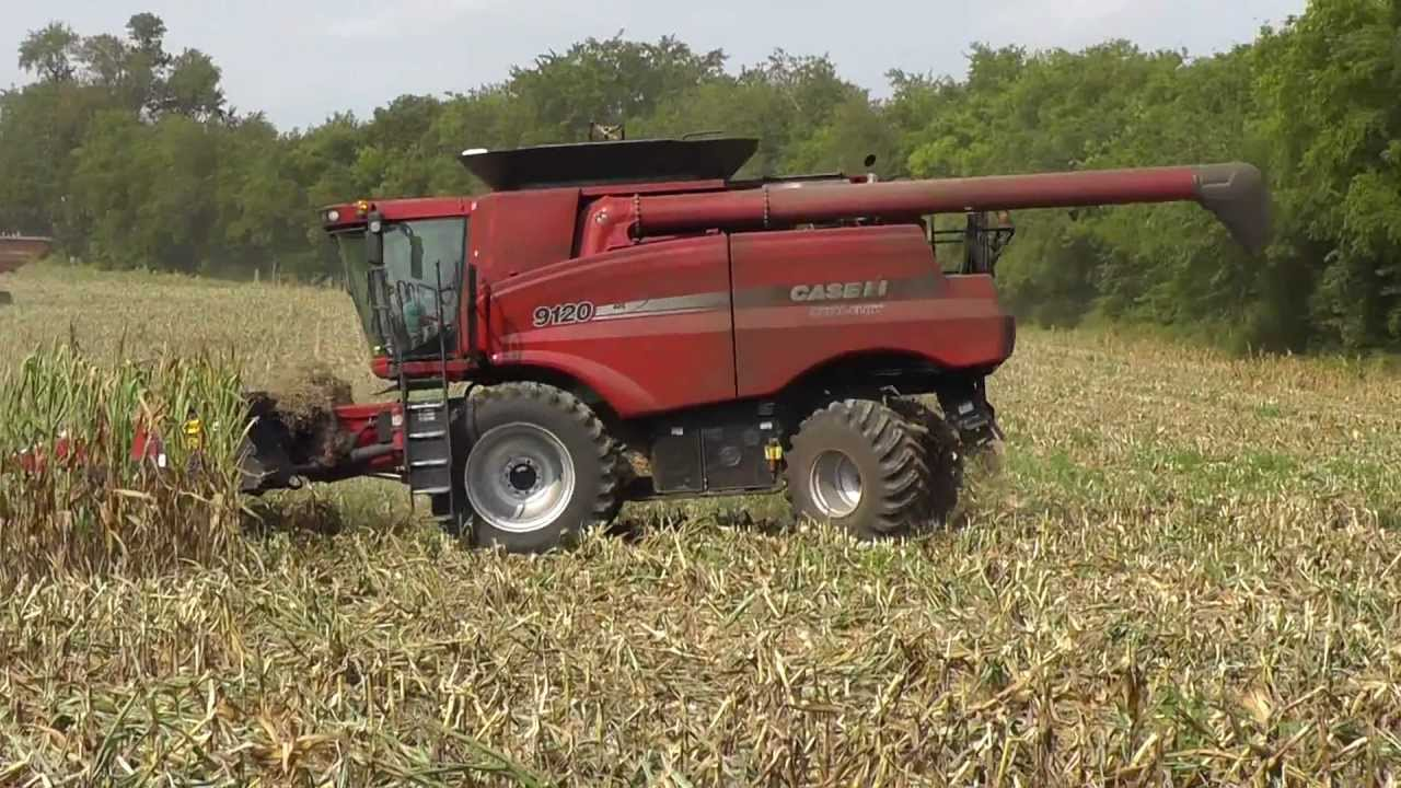how to drive a combine harvester