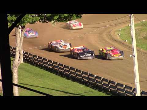 Little Valley Speedway Crate Late Model Heat Races 7-3-17