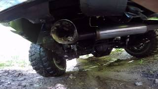 Why it is Good Idea to Check your Exhaust Tailpipe after Messing Around in Mud