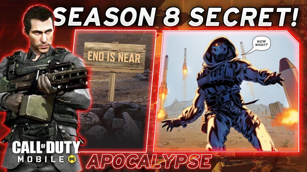Call of Duty Mobile Season 8 Secret Revealed! - COD Mobile Season 8 Leaks (Season 8 Apocalypse)