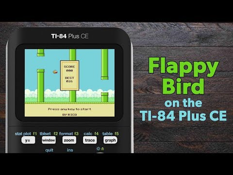 Download any app store game (basically) on ti-84 plus ce! (2017.
