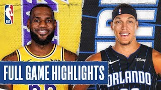 Lakers At Magic | Full Game Highlights | December 11, 2019