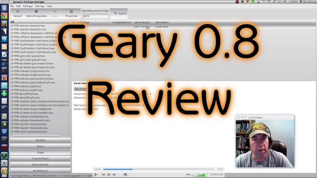 Geary 0 8 Review