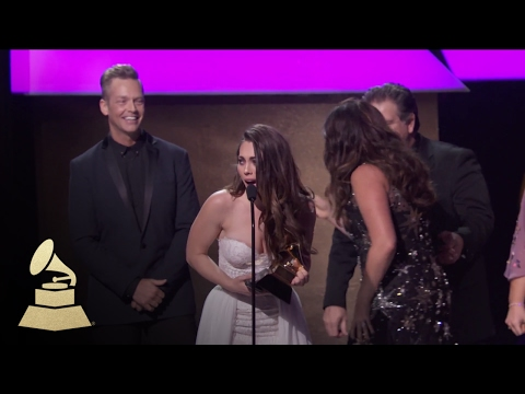 Best Contemporary Christian  Performance  Song  Acceptance Speech  59th GRAMMYs
