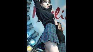 161127 댄스팀 클라썸 (미리, Clawsome) - A (레인보우) @ 동대문 밀리오레 직캠 By SSoLEE