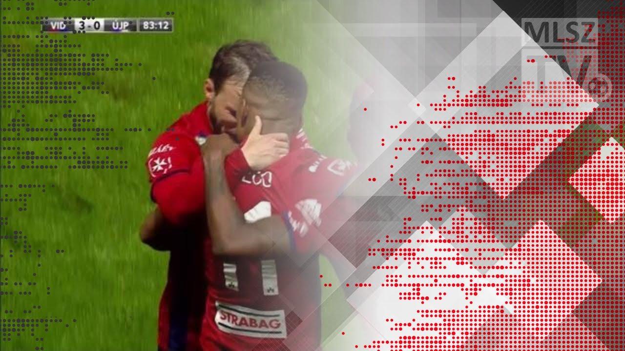 Nego Loic gólja a Videoton FC - Újpest FC mérkőzésen