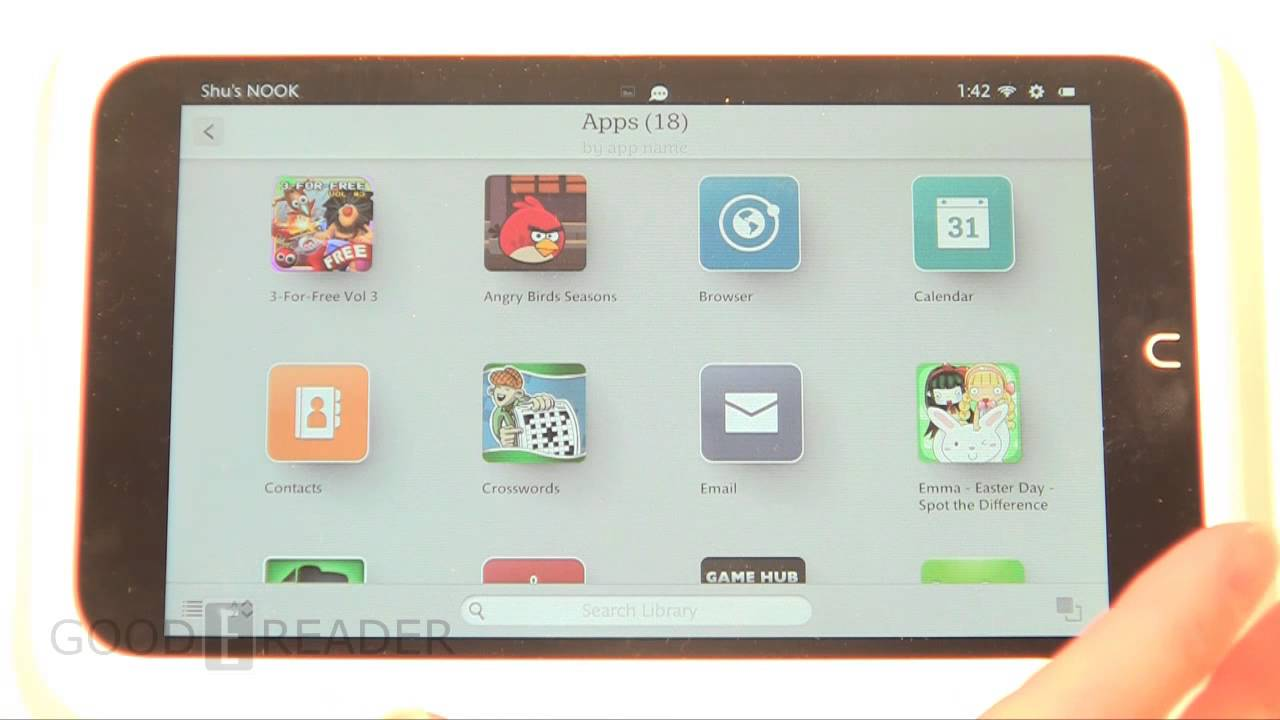 How To Take Screenshots On The Nook Hd