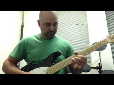 Guitar instrumental on my Musicman Silhouette Special guitar!