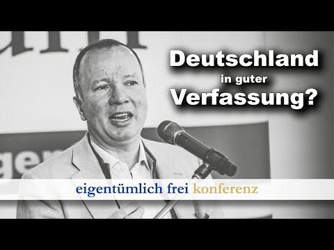 Markus Krall: Eine Verfassung für Deutschland (ef-Konferenz 2020, Teil 18)