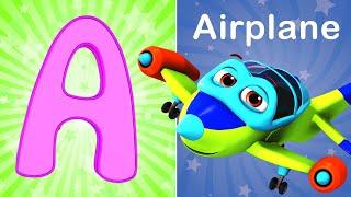 ABC Song -2 , Phonic Songs | kids cartoon | + More Nursery Rhymes & kids Songs - Blue Fish 4K Videos