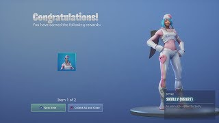*UNLOCKED* 'SKULLY' Heart (RARE White & Pink Skin) ALL Fortnite Challenges COMPLETED!