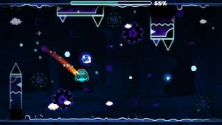 daily level 26 descendant by extrox all coins geometry dash 21