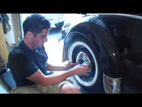 Classic VW Beetle Bug How To Restoration HubCap Tip Restore