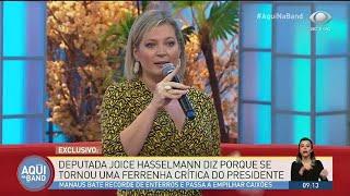 Joice Hasselmann diz que governo Bolsonaro comete ilegalidades | AQUI NA BAND