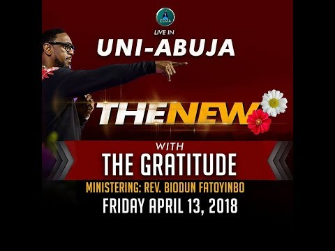 The New - University of Abuja Experience with Pastor Biodun and The Gratitude