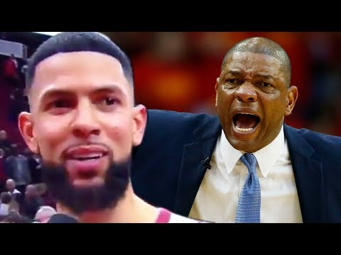 Austin Rivers BEGS Refs To Call A Technical Foul On His DAD Doc Rivers!