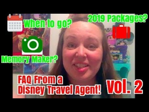 FAQ From a Disney Travel Agent Volume 2!