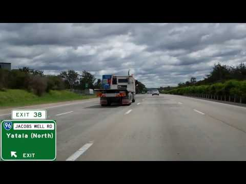 Pacific Motorway in Queensland, Australia - Gold Coast To Logan City