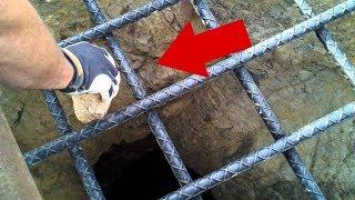 Sie warfen einen Stein in das tiefste Loch auf Erden, das ist, was passierte!