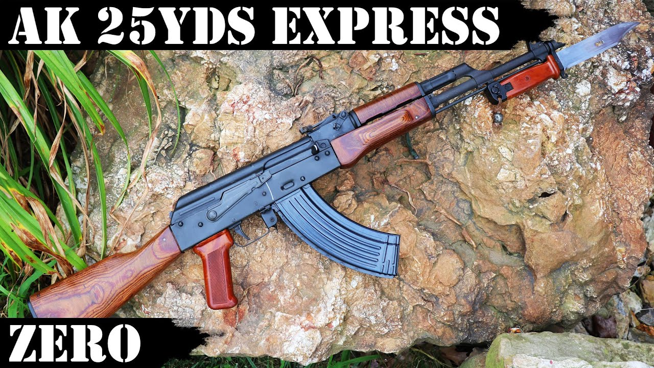 AK 25 Yards Express Zero: how to zero your AK fast and be on target up to 300 Yards!