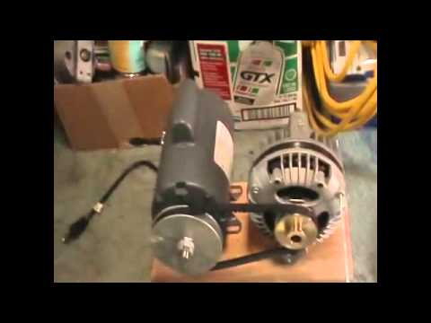 FREE ENERGY ,ENERGIA LIBRE(MOTOR, ALTERNADOR) - YouTube