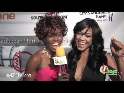 Caribbean Heritage Org. Salute to Hollywood & the Arts red carpet coverage on myKEEtv.com