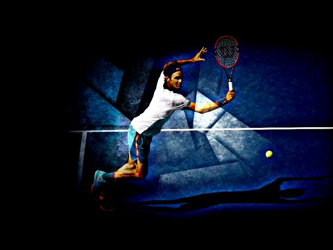 Roger Federer - When he goes on the net - Best Volley Ever 1080HD