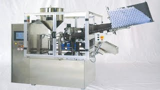 fully automatic plastic tubes filling and sealing machine demo tube filler equipment أنبوب ملء آلة