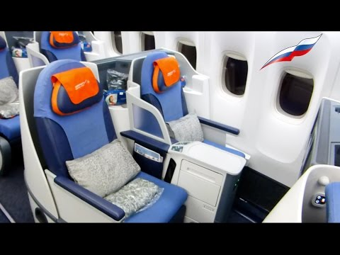 AeroFlot Business Class B777 & A330 & A320 & Lounge Moscow -